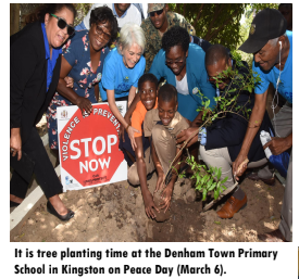 Peace Day Activities Observed in ZOSO Communities on Jamaica's Day of Peace