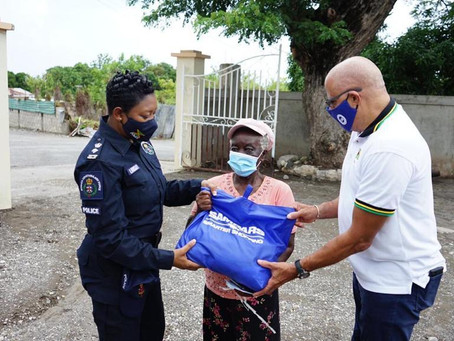 Thousands Benefit from PSOJ COVID-19 Jamaica Response Fund