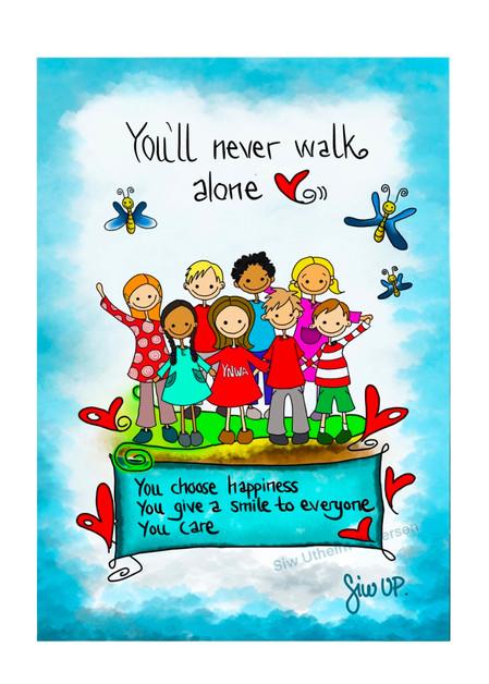 Youĺl never walk alone