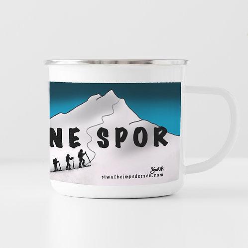 LAG DINE EGNE SPOR - koppen (blå)