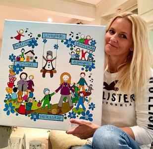 Bilde til en barnehage (gave fra Tromsø kommune)