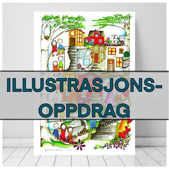 ILLUSTRASJONS-OPPDRAG