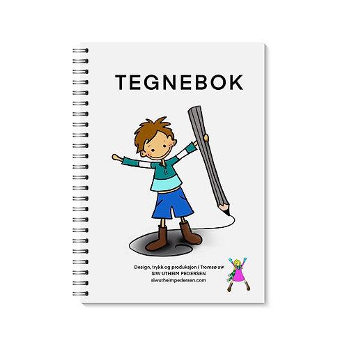 TEGNEBOK (gutt)