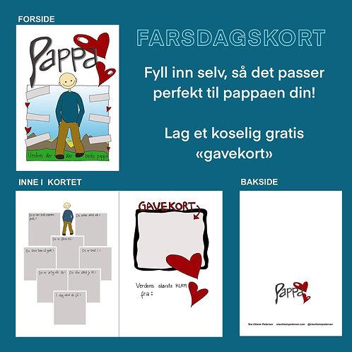 PAPPA-kort