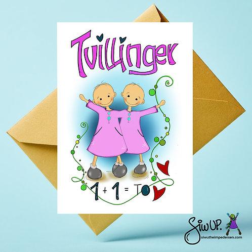 Tvillingkort jenter
