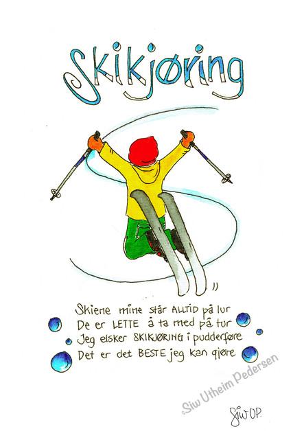 """SKIKJØRING"""