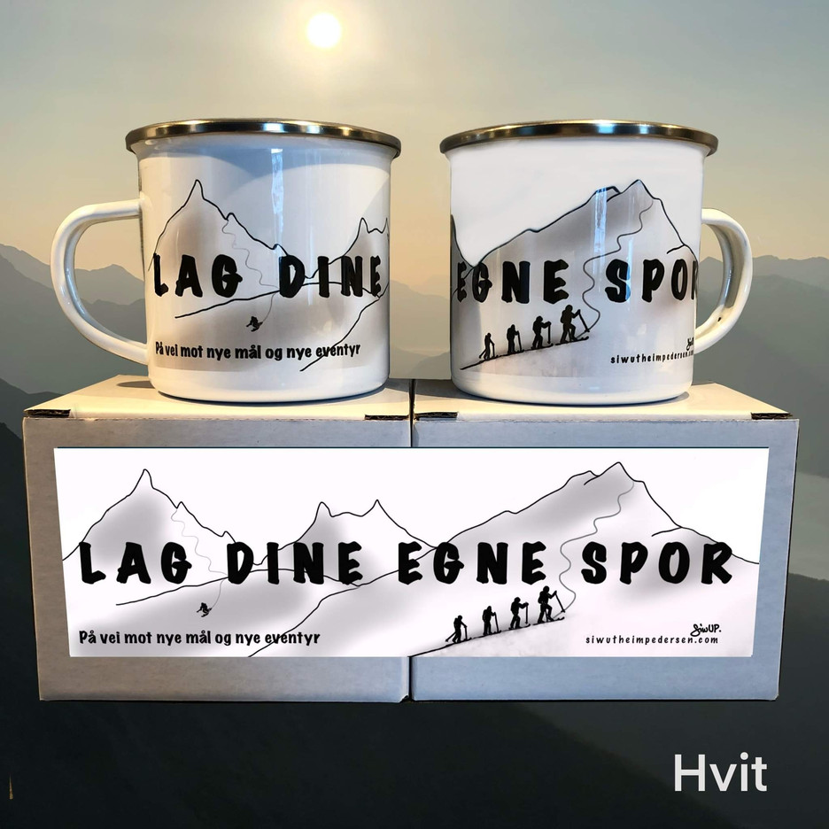 LAGDINEEGNESPOR-koppen (hvit)