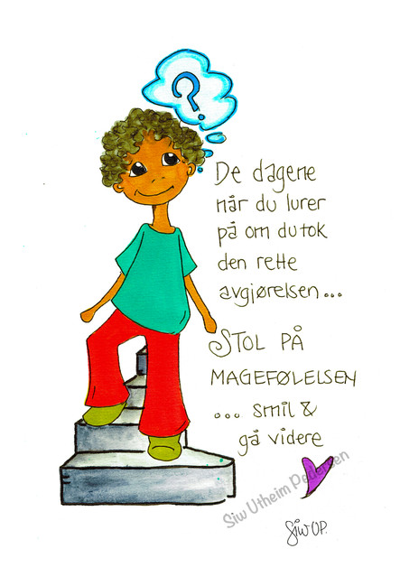 """""""STOLPÅMAGEFØLELSEN"""""""