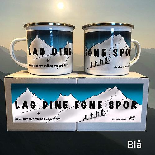 LAGDINEEGNESPOR- koppen (blå)
