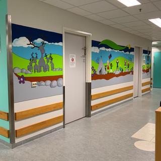 Barneavdelinga på UNN  i Tromsø