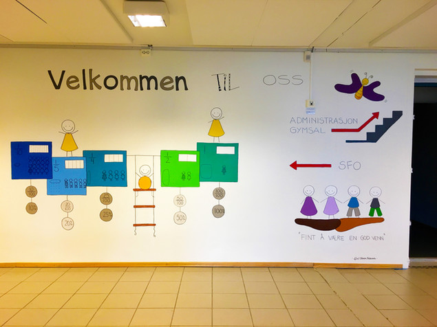 UTSMYKKINGpå Slettaelva barneskole på Kvaløya utenfor Tromsø