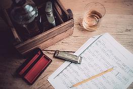 Harp and music pic, whiskey.jpg