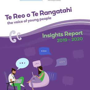 Te Reo o Te Rangatahi Insights Report