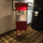 Popcorn cart for hire