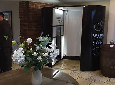 Rentable photo booth