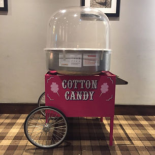 Candy floss machie hire