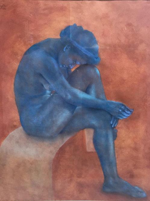 Berta Goldwaser, 'Sinfonía en azul'