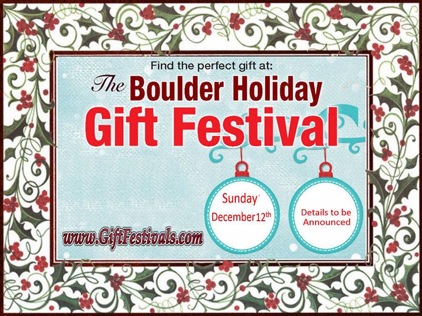 Boulder Holiday Gift Festival - TBA Logo