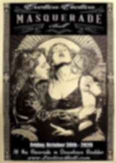 Exotica Erotica Ball Poster - 2020 Date.