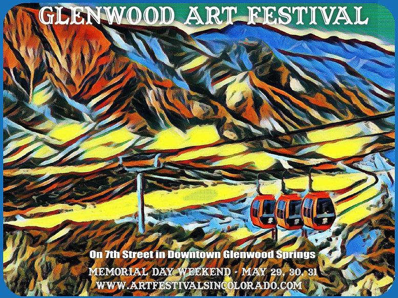 Glenwood Art Festival - 2021 Logo - 7th
