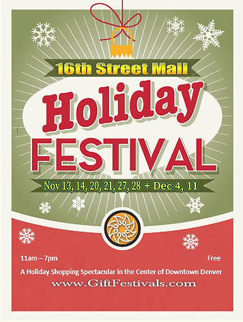 16th Street Mall Holiday Festival - 2021
