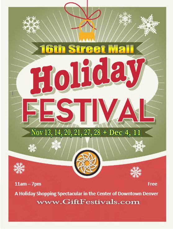 16th Street Mall Holiday Festival - 2021
