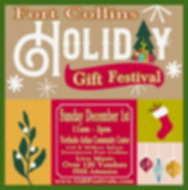 Fort Collins Holiday Gift Festival - Log