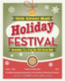 16th Street Mall Holiday Festival - 2020