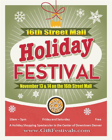 16th Street Mall Holiday Festival - 2020