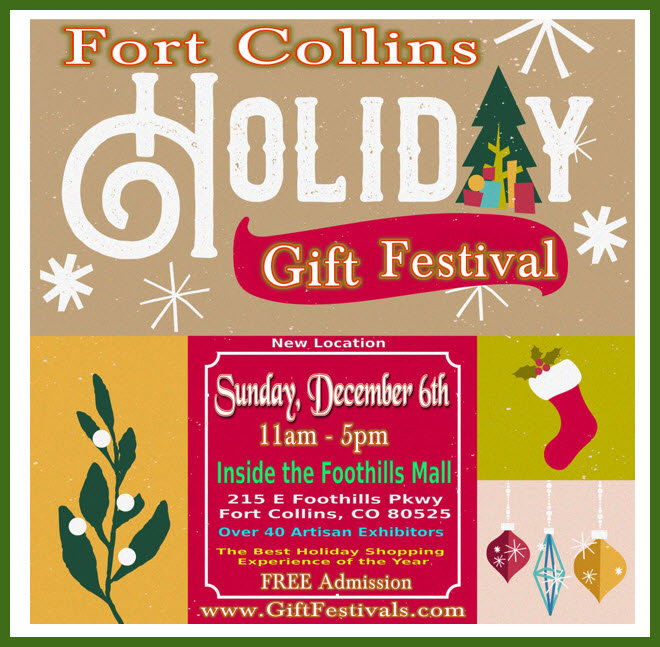 Fort Collins Holiday Gift Festival - Foo