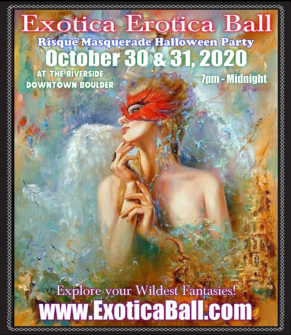 Exotica Erotica Ball - 2020 Poster for 2