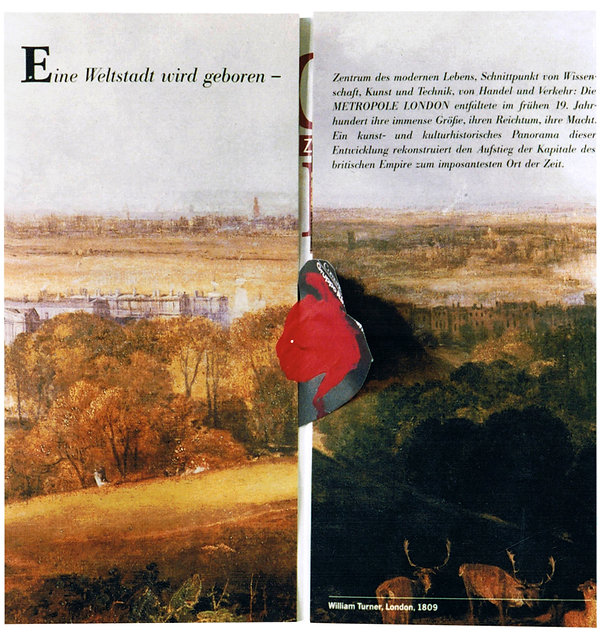 5    Lettere da Francoforte, 1992, 21x21