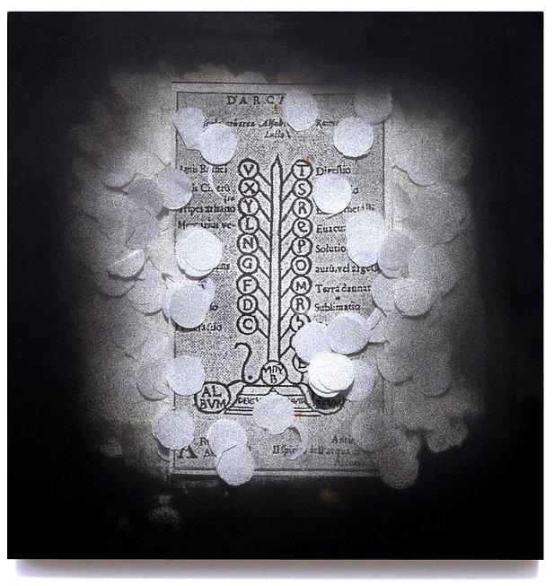 8  Erma, 1983, scatola di legno, vetro,