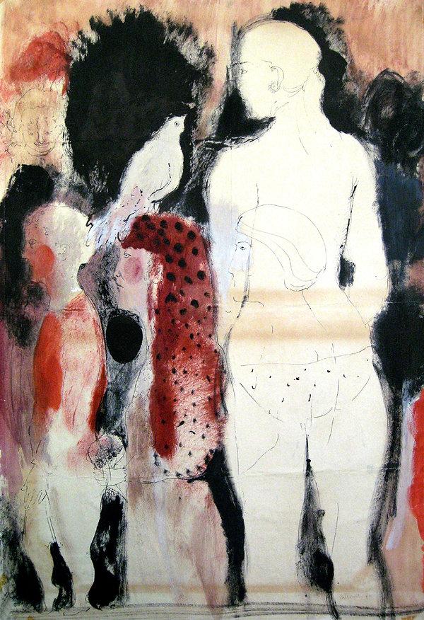 6  Sono una strega, 1970,  99x68,5 cm  .