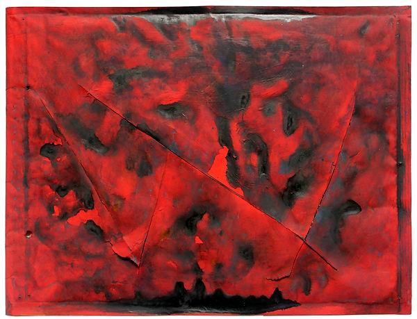 3 Lettere a nessuno, 1993, 26x34x1 cm