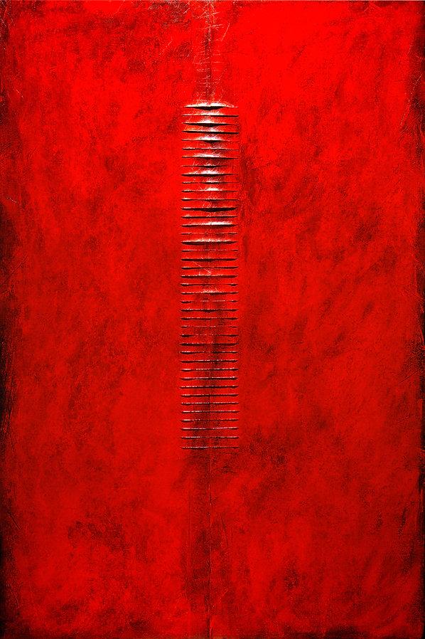 7 L'accesso sigillato,1988, tavola, cart
