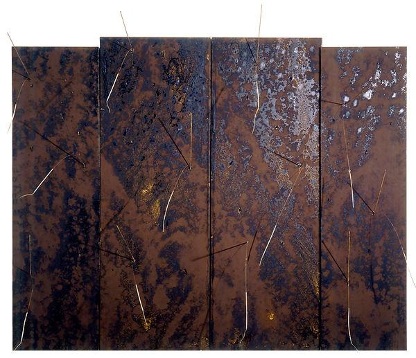 1  Artigli, 1987, tavole, catramina, pig