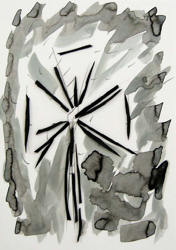6   La versione di Dulcinea, 2009, 42x30