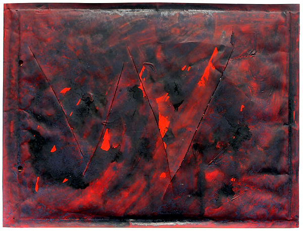 1   Lettere a nessuno, 1993, 26x34x1 cm