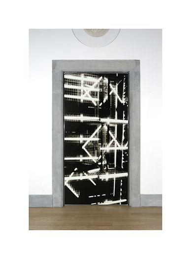 6 -  Porte Pandini, 2002, serigrafia su