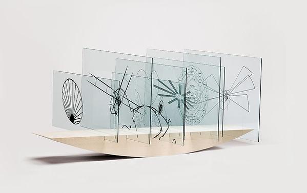 1  Matrix, 2006, abete bianco, stampa di