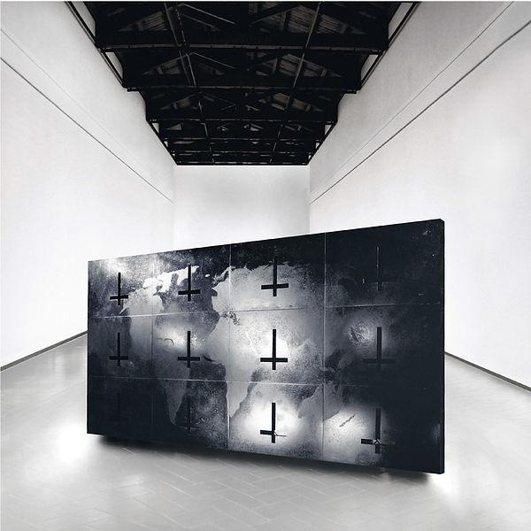4  Paesaggio in nero,1991, Villa Reale,