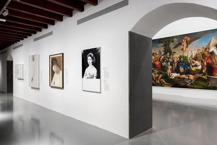 Raffaello-e-leco-del-mito_-Installation-