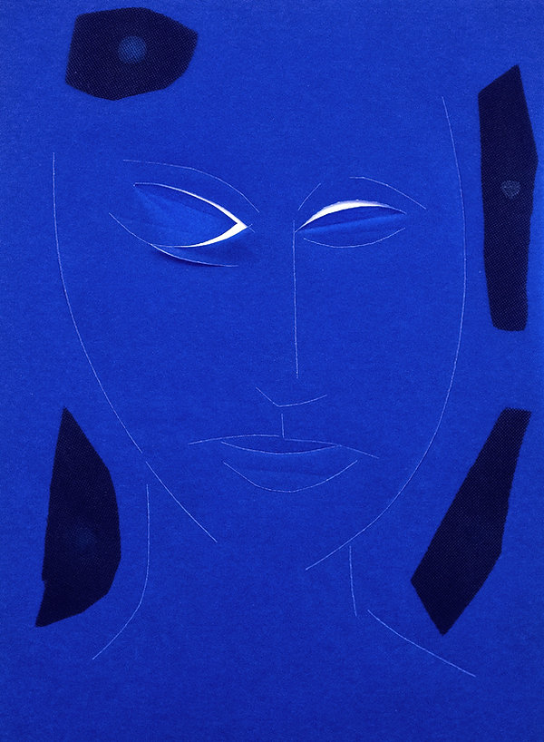32 Donna blu, 2015, 30x22 cm  .jpg