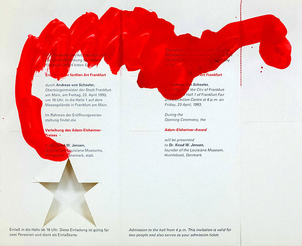 10  Lettere da Francoforte, 1992,   21x2