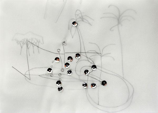 9   Giardino stellato, 2003,   21x15 cm