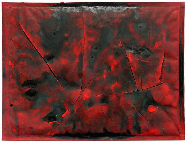 6 Lettere a nessuno, 1993, 26x34x1 cm  .