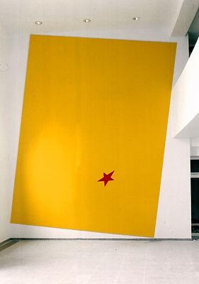1. La mia stella, 1994, affresco, Gallus