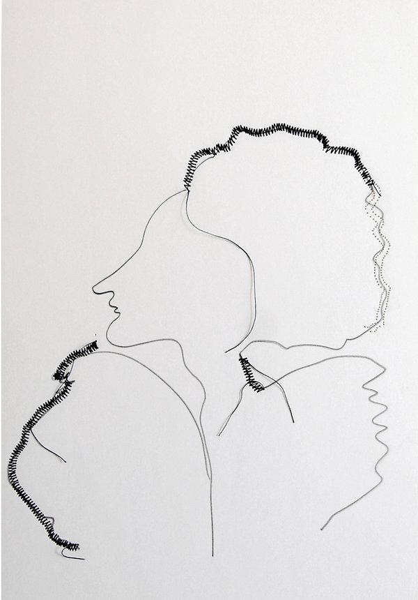 5 La versione di Dulcinea,  30x21 cm  .j