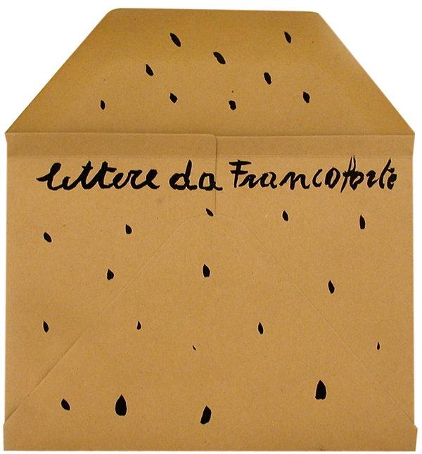 1  Lettere da Francoforte, 1992, 24x23 c